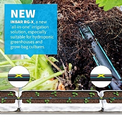 INBAR RG-X – for more efficient irrigation and fertilization in greenhouses