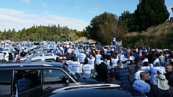 Thousands of Farmers Demonstrated in Jerusalem (Enlarge)